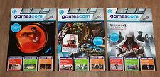 2010 Gamescom actualmente cuaderno Magazine salida 1 2 3