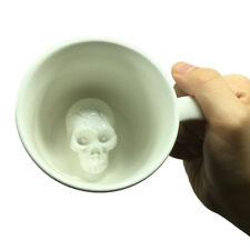 Hidden Creepers Creature Cup Skull Coffee Mug Halloween Skeleton Ceramic Mug