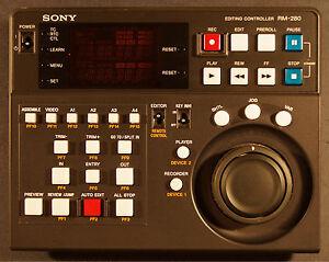 Sony Editing Controller RM-280