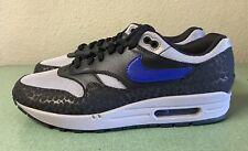 Nike Air Max 1 SE Reflective Safari Off Noir Grey Blue Mens Sz 11 Running Shoes