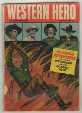 Western Hero (1949) #76 First (1) Issue Hopalong Cassidy Gabby Hayes Tom Mix GD-