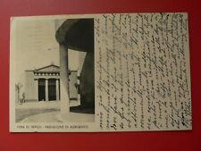 Cartolina FIERA DI TRIPOLI - PADIGLIONE DI AGRIGENTO VIAGGIATA 1935   2/17