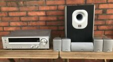 Home theatre cinema  Amplificatore Kenwood con casse e subwoofer JBL