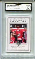 2018 Andrei Svechnikov First Round Phenoms Draft Rookie Gem Mint 10