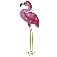 Solar Pink Flamingo Garden Outdoor LED Light Ornament Lamp Decorative Figure
