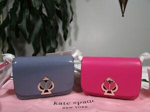 NWT Kate Spade Leather Nicola Twistlock Micro Crossbody Belt Bag