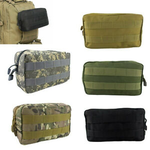 Tactical MOLLE Pouch Horizontal Admin Pouch EDC Pouch Utility Tool Bag