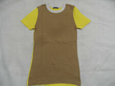 PETIT BATEAU schönes Shirt Colourblocking gelb braun Gr. 18 J TOP ST719