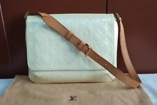 AUTHENTIC PRE-LOVED LOUIS VUITTON LV THOMPSON STREET VERNIS SHOULDER BAG
