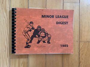 1985 Minor League Baseball Digest