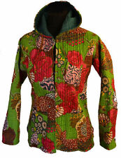 Cotton Floral Quilted Coats & Jackets for Women