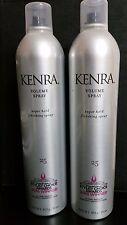 KENRA #25 VOLUME SPRAY SUPER HOLD FINISHING HAIRSPRAY 16 oz.   X 2 BOTTLES