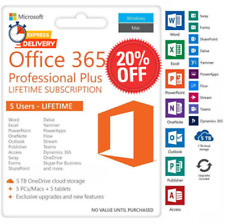 ✅🔥MICROSOFT365 OFFICE/🔥LIFETIME/✅ACCOUNT✅FOR 5 DEVICES✅🔥ANDROID✅PC&Mac✅5TB