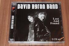 The Byron Band – Lost And Found (2009) (2xCD) (Angel Air – SJPCD312) (Neu+OVP)