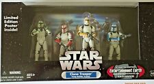 STAR WARS | CLONE TROOPER BUILDER 4PK COLOURED | EE EXCLUSIVE | 2005 | SEALED |