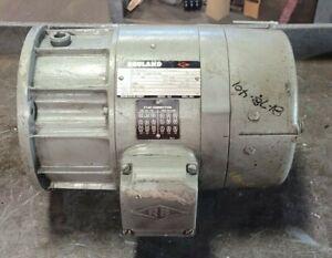 REULAND 1 HP BRAKE MOTOR 230/460 VAC 3 PHASE 1800 RPM 0010C-1BAB-0254 / 29B4