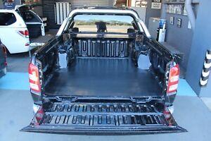 Mitsubishi Triton Rubber Ute Tray Mat MQ MR Dual Cab