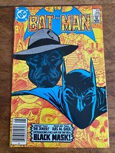 Batman #386 DC Comics Origin & 1st Appearance of Black Mask 1985 COMB SHIPPING v