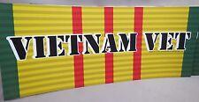 WHOLESALE LOT OF 20 VIETNAM VETERAN STICKER Pow Mia Marine Army Navy  Military