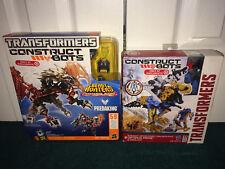 Transformers Construct-Bots Predaking Predacons + Optimus Prime & Grimlock MISP