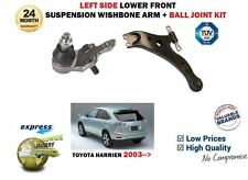 FOR TOYOTA HARRIER 2.4 3.0 2003-> LEFT LOWER WISHBONE TRACK CONTROL ARM + JOINT