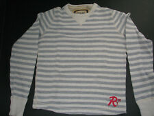 Striped Ruehl no. 925 by Abercrombie Men's vintage long sleeve shirt Medium M