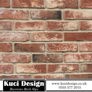 Bayswater Brick Slips, Wall Cladding, Brick Tiles SAMPLE