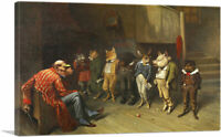 ARTCANVAS School Rules 1887 Canvas Art Print by William Holbrook Beard