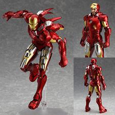 Figma 217 Iron Man Mark 7 Full Spec Ver. The Avengers Marvel Anime Figure Japan