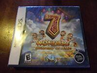 7 Wonders: Treasures of Seven (Nintendo DS) Lite DSi XL 2ds 3ds XL BRAND NEW