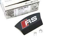 Reparatursatz Original Audi RS Bremssattelblende mit Emblem Tuning Hinterachse