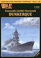 "GENUINE PAPER-CARD MODEL KIT - French battleship ""DUNKERQUE"""