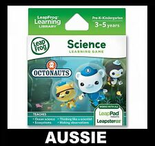 LeapPad 1 2 3, ULTRA, LEAPSTER GS & EXPLORER ~ OCTONAUTS Game ~ NEW