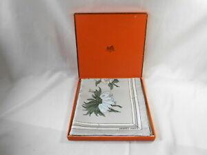 Vintage New in Box Hermes Paris Silk Scarf