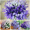 Artificial Lavender Fake Flower Bush Bouquet Home Wedding Party Garden Decor New