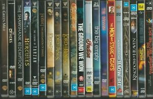 Movies DVD CHOOSE YOURS - Drama Horror Fantasy Sci Fi + Free Postage on 5 +
