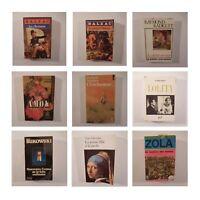 9 Libros Novelas Bukowski Nabokov Radiquet Zola Caballero Zweig Balzac N3501
