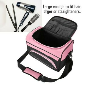 Pro Large Hairdressing Hair Stylist Beauty Bag Salon Equipment Tool Carry Case