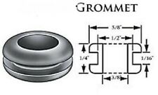 "Lot of 50 Rubber Grommets 3/8"" Inside Diameter, Fits  1/2"" Panel Holes"