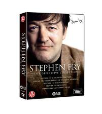 Stephen Fry - The Definitive Collection DVD [8-Disc Set] Box Set NEW & SEALED