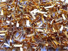 200 Musterbeutelklammern, Verschlussklammern, Flachkopfklammern, Warensendung