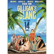 NEW Rescue From Gilligan's Island Includes 14 Bonus Movies (DVD)