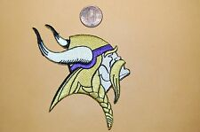 "Minnesota Vikings 3 3/4"" Patch 1966-Present Primary Logo Football"