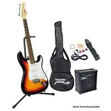 Pyle PEGKT15SB Beginner Electric Guitar Package