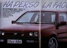 Z26 Ritaglio Clipping 1992 ABT Volkswagen Golf
