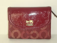 Coach madison dotted medium wallet 48643
