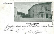 CARTOLINA d'Epoca - ASTI : CASTELNUOVO D'ASTI