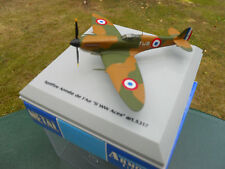 ARMOUR FRANKLIN MINT ARMOUR 1/100 AVION SPITFIRE ARMEE DE L'AIR   MINT IN BOX