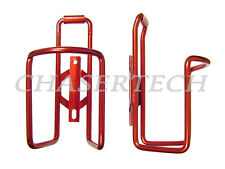 New MTB Road Bicycle Bike Alloy Bottle Cages Red 1 Pair