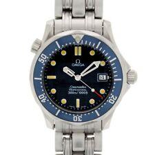 Gents Omega Seamaster Pro 300M Midi Size Blue Dial & Bezel 25618000